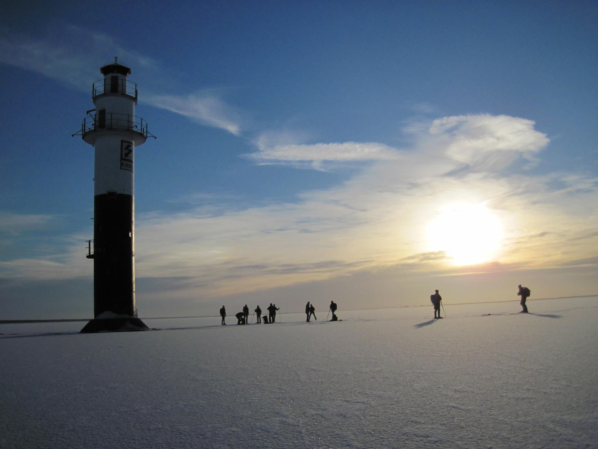 Vuurtoren Kalmarsund oostzee Zweden